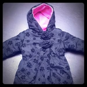 6-9 month girls snowsuit